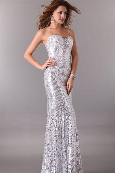 bed6bfaae21 Серебристое платье 4