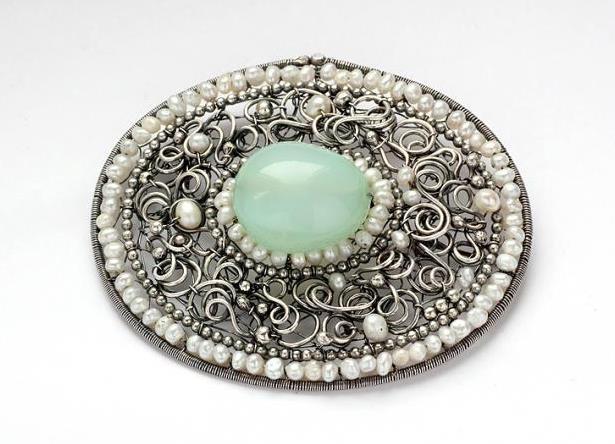 Авторские украшения из натуральных камней ручной работы в серебре