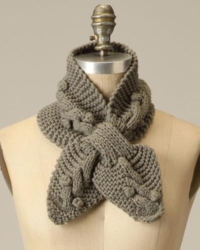шарфы вязаные крючком