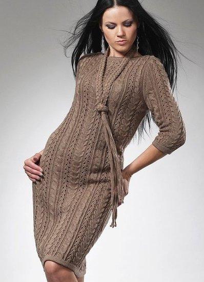 a0f70ffdf49 Шерстяное платье с длинным рукавом 4 ...