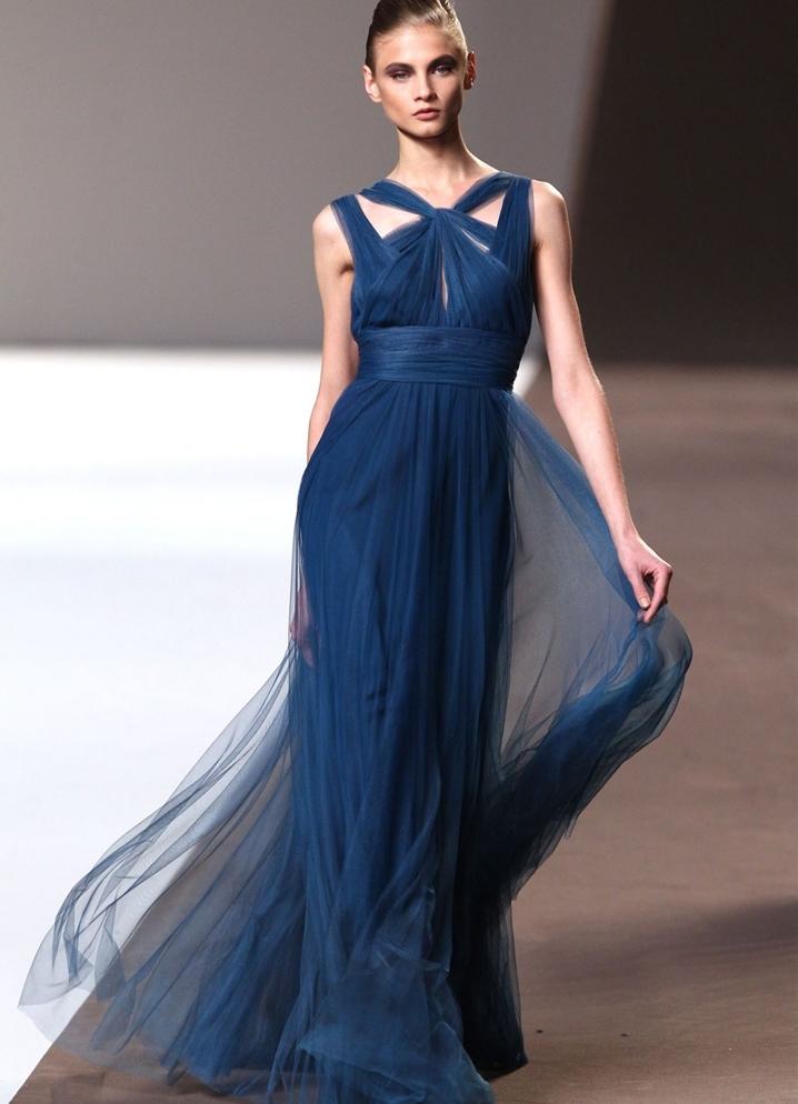 ba4c2f70d62 Шифоновое платье в пол