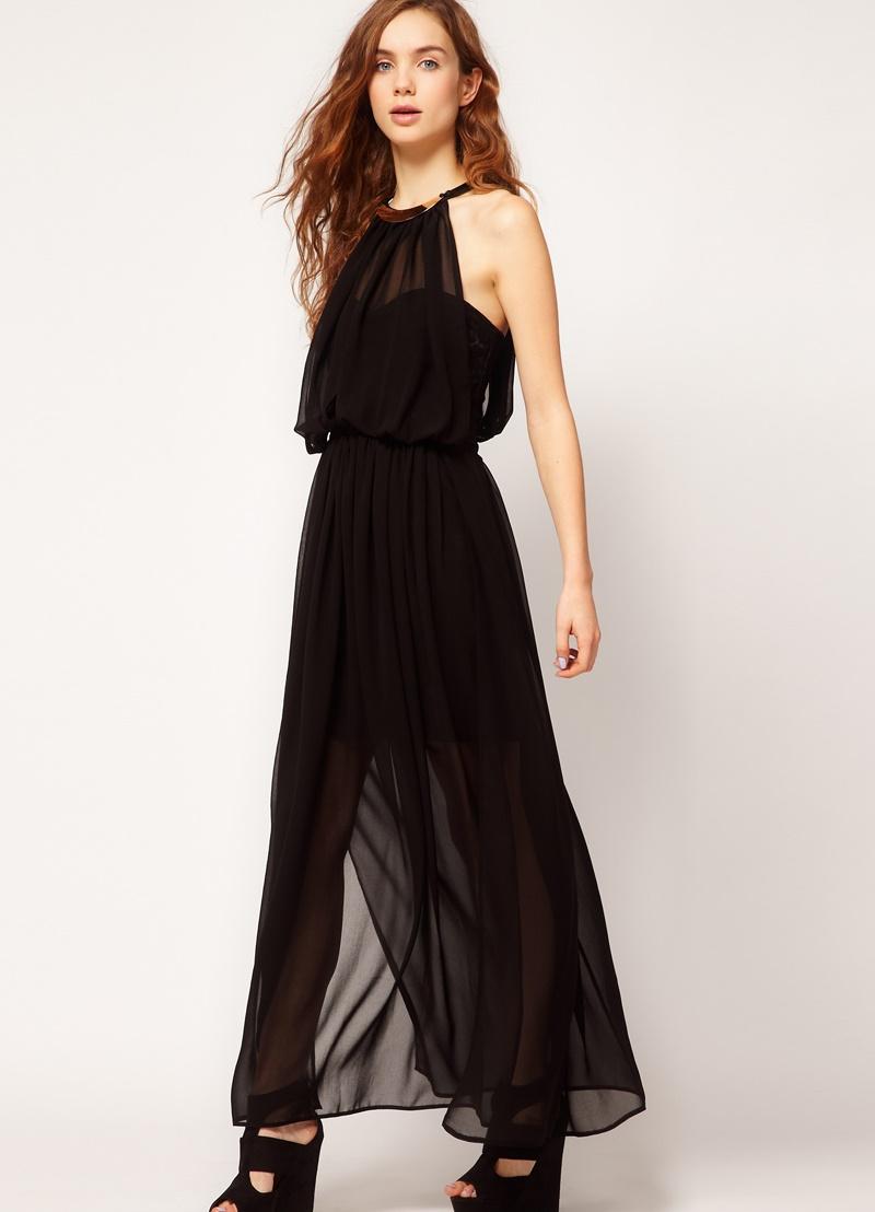 627cbb7c797 ... Шифоновое платье в пол 8 ...