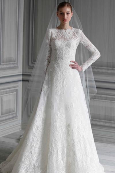 acbce2b0ac1e404 Свадебное платье с кружевными рукавами