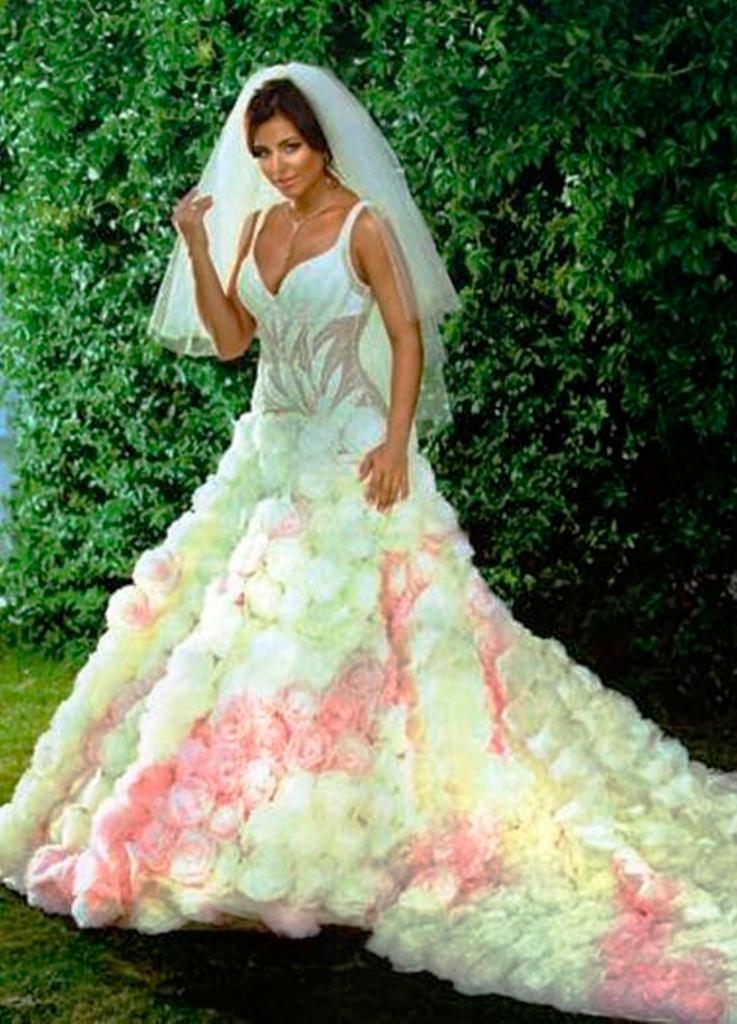 c1033846668 Свадебные платья звезд