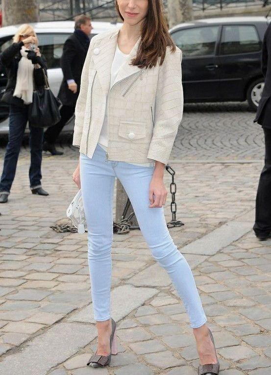 джинсы женские фото светлые