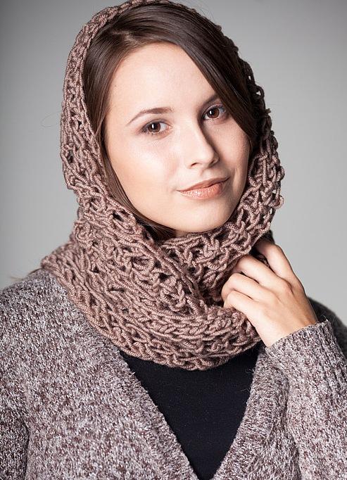 Как красиво завязать платок на голове, если у Вас короткие 60