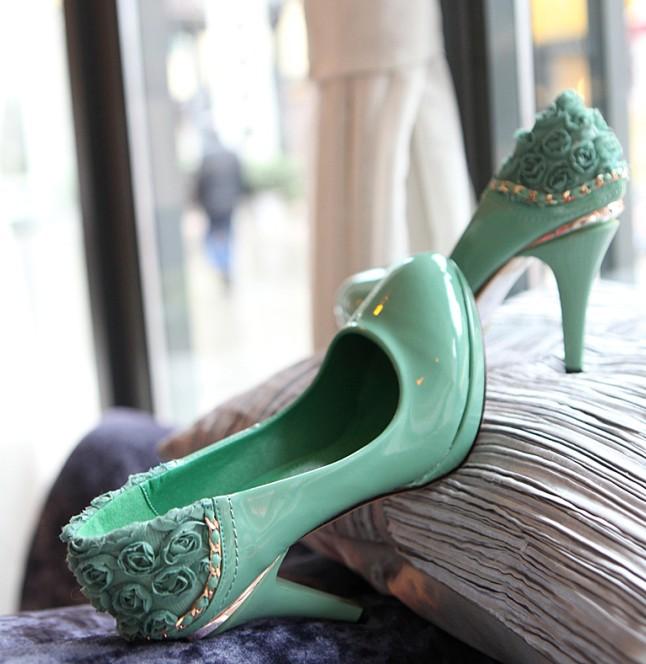 Зеленые туфли dbfd3c9bf25