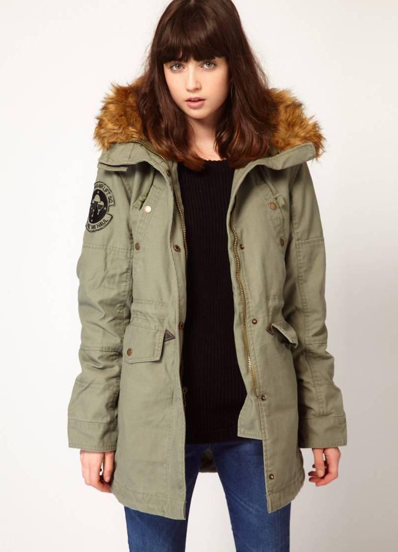... Женская куртка парка 3 b97cfab1f6e
