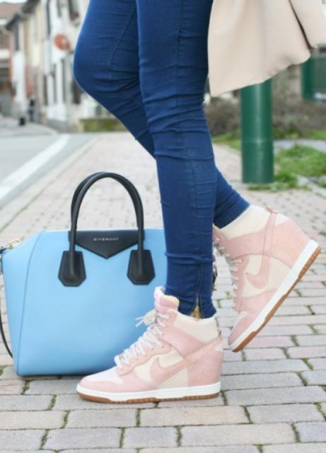 Женские кроссовки на платформе aff9482d9e4