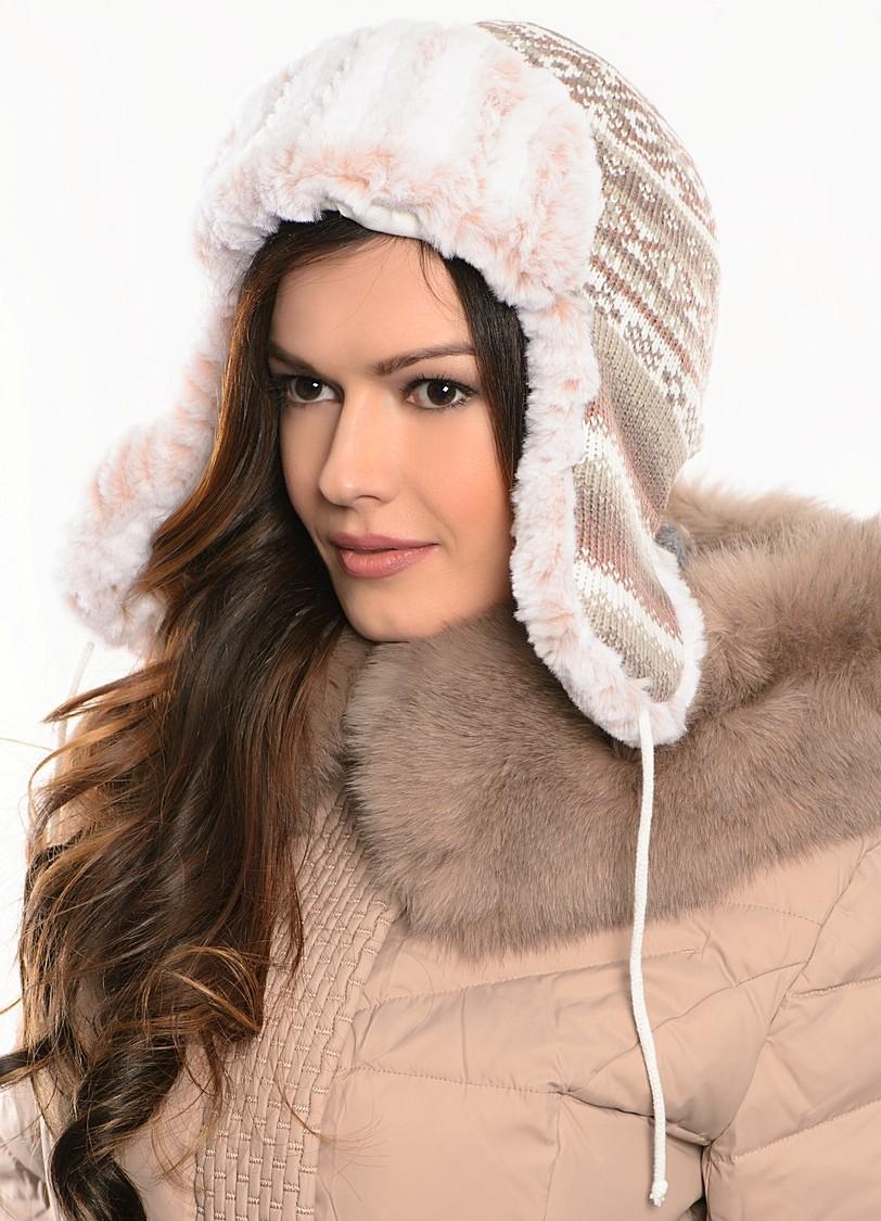 Женские шапки ушанки 3f6c130a1883e