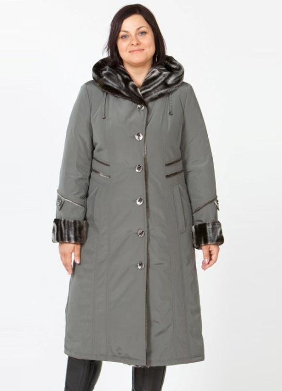 фото зимняя одежда полных женщин фото