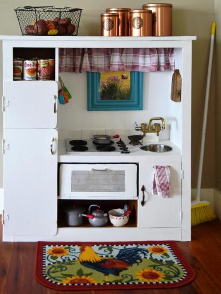 Детская кухня своими руками фото