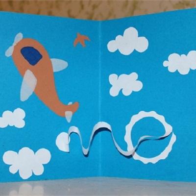 Картинках, открытка руками ребенка для деда
