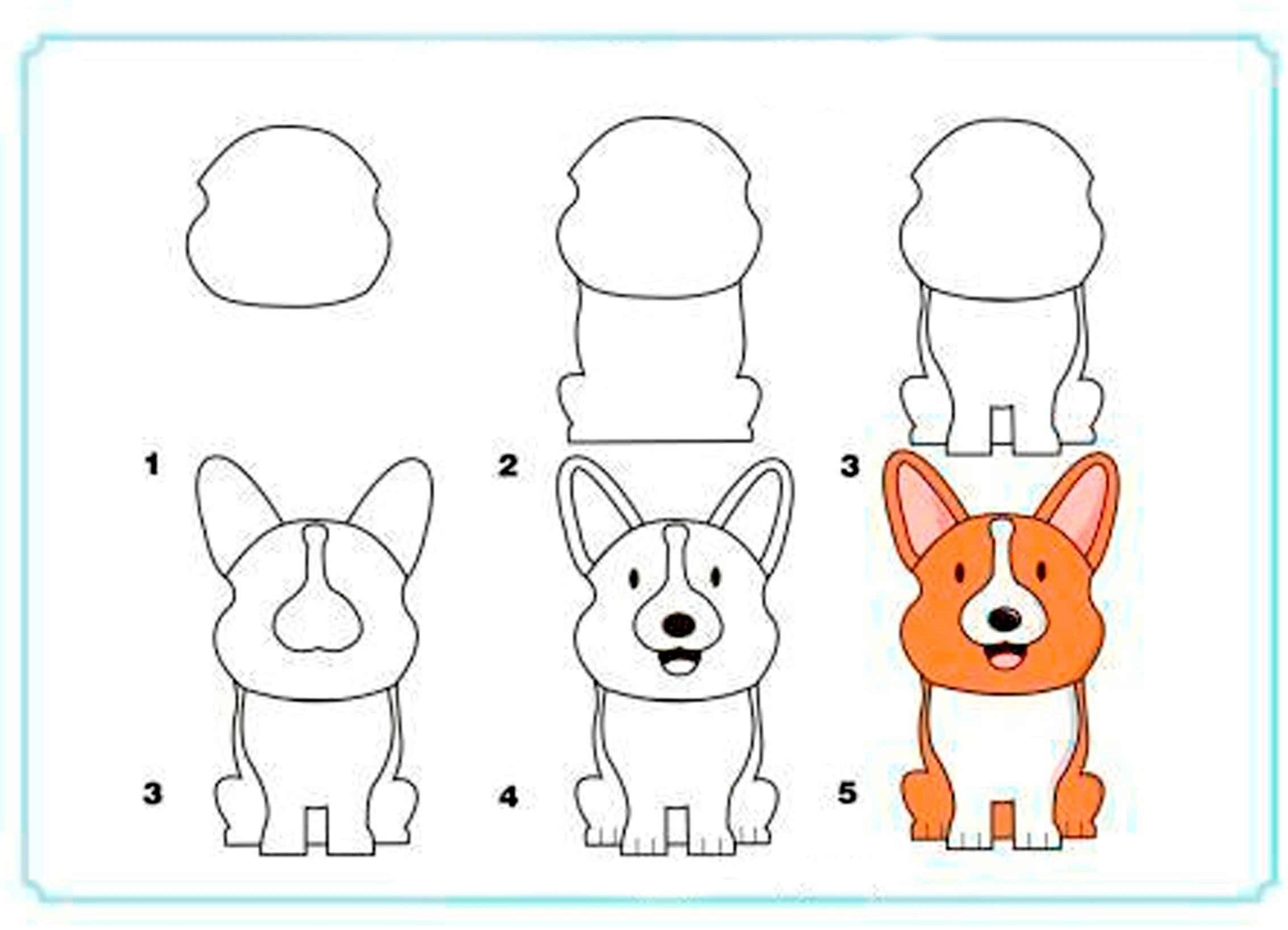 Вечера картинки, картинки животных срисовать для детей