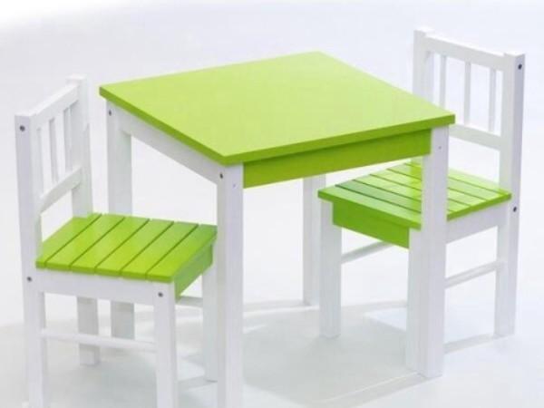 детские столы и стулья от 2 лет