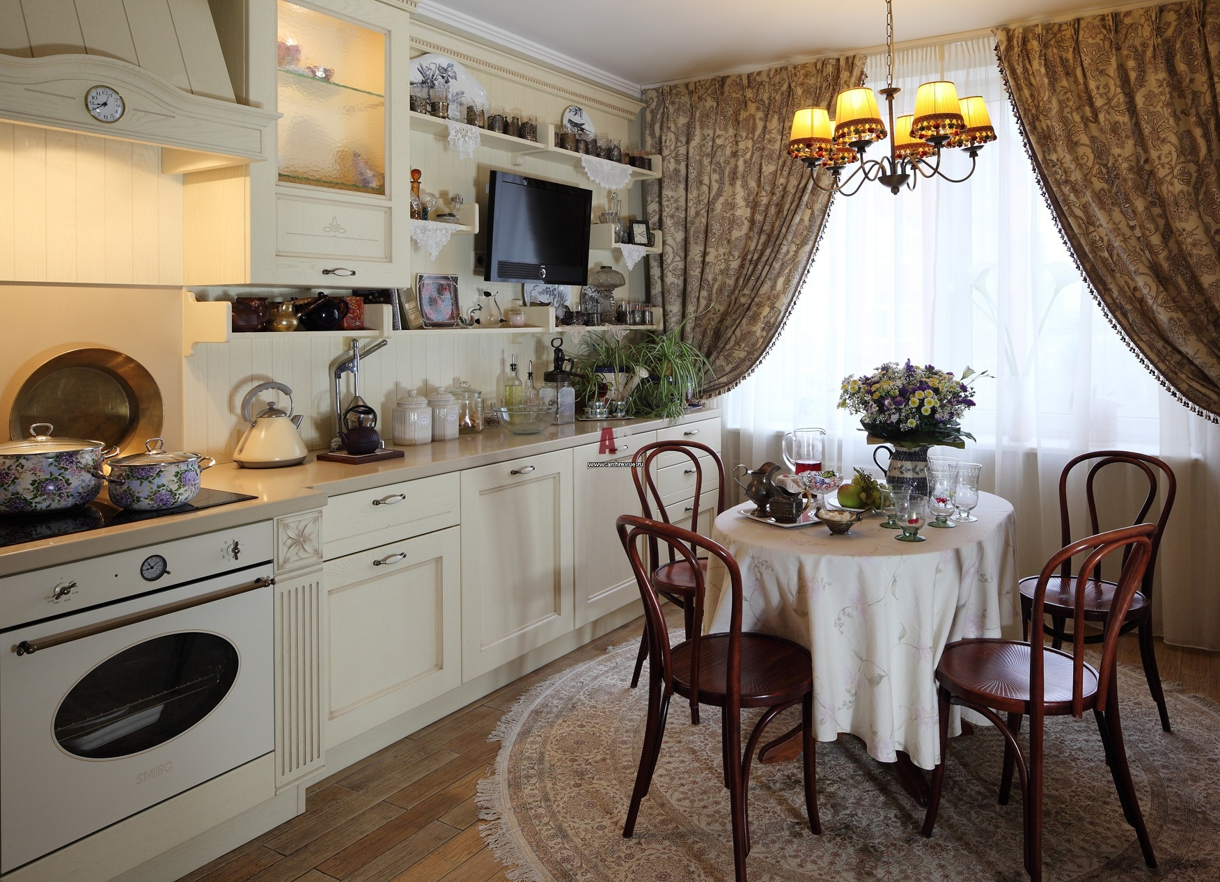 кухня дизайн в стиле прованс фото