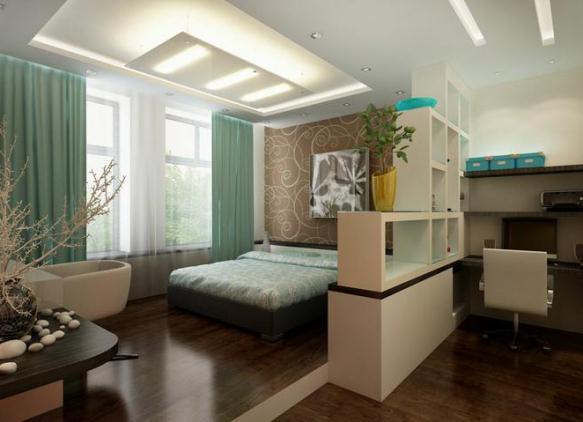 Однокомнатная квартира для семьи с ребенком: дизайн. - Houzz 42