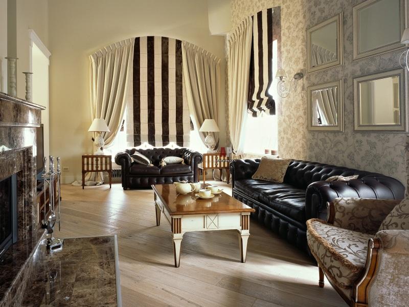 for Decoracion clasica moderna interiores