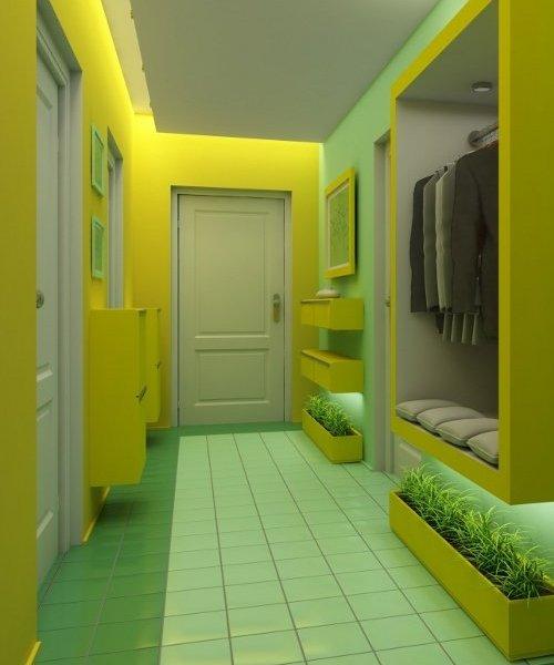 Дизайн узкого коридора: 45 лучших идей для экономии.