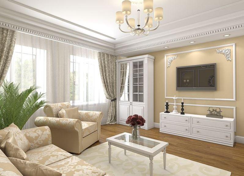 еще поняли, классический дизайн зала в квартире фото что для
