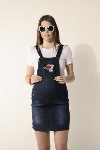 джинсовое платье для беременных 1 ... ece4af45327