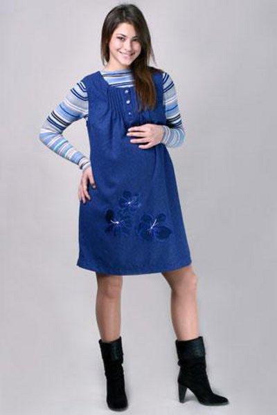 fffd12e29ae5 джинсовое платье для беременных 4 ...