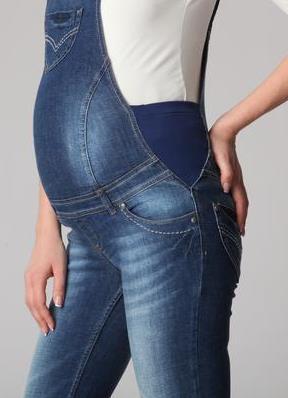 087590073467 ... джинсовый комбинезон для беременных 6