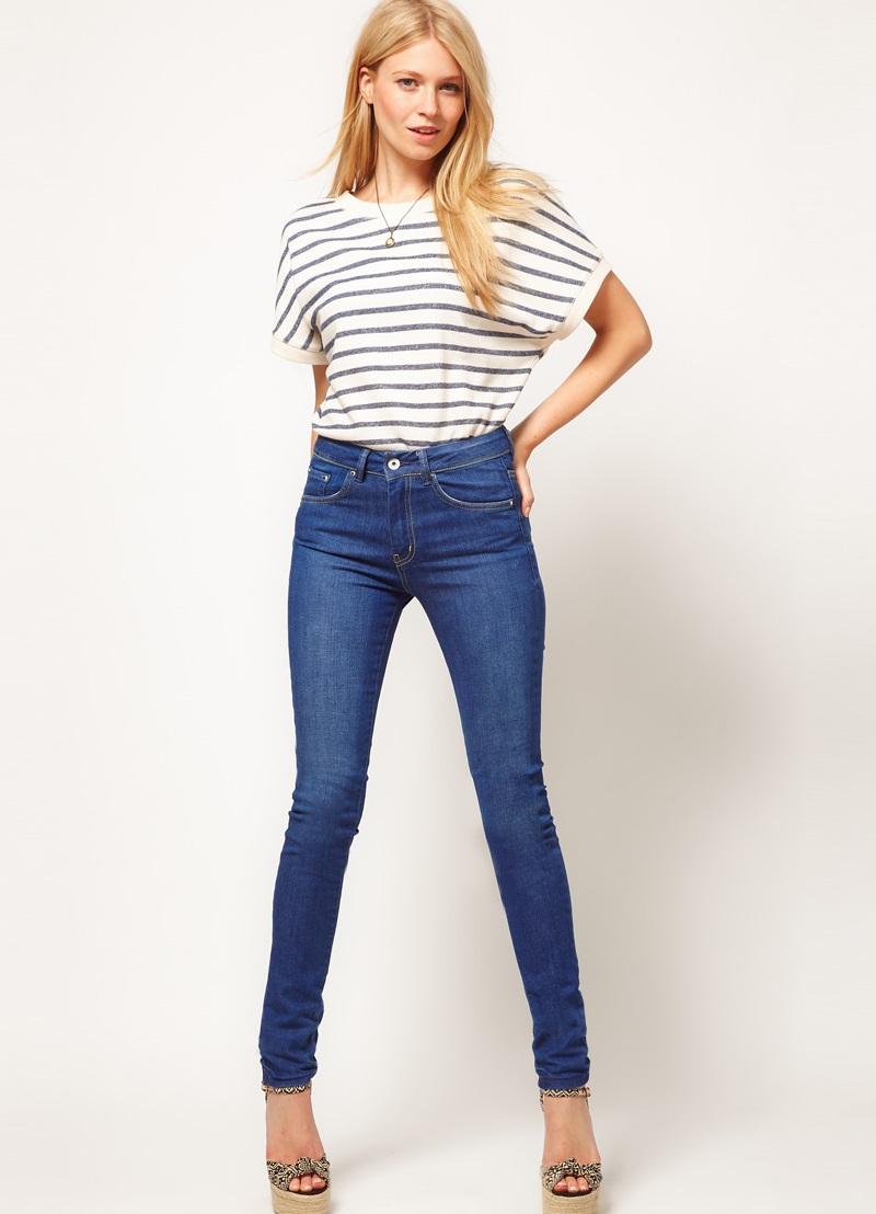 0cbffeecf0e ... джинсы с завышенной талией 8 ...