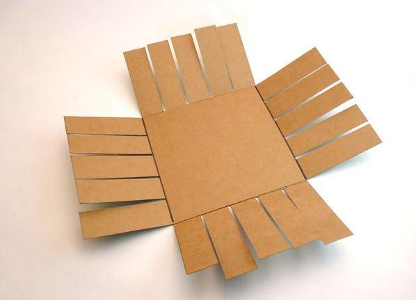 Как сделать корзинку из бумаги 57