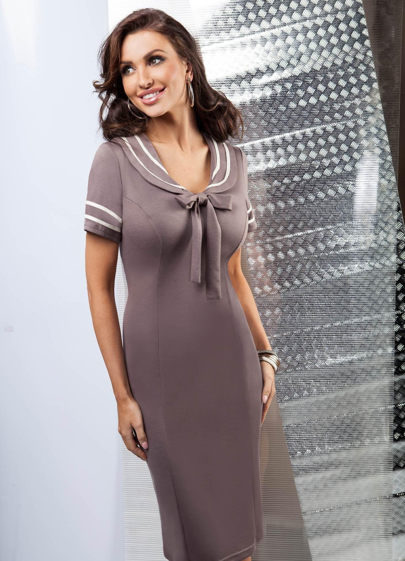 c29f497d85348cd Фасоны платьев для женщин 50 лет