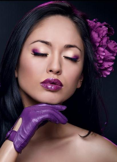 Фиолетовая помада: кому подойдет такой цвет помады?