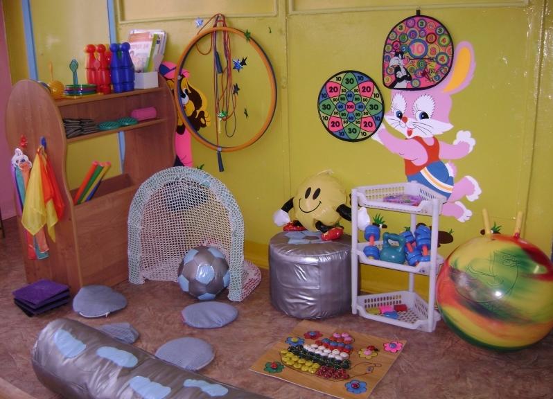 Физкультурный уголок в детском саду оформление своими руками