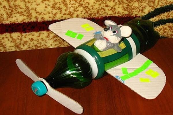 Вертолет из бутылок своими руками фото 212