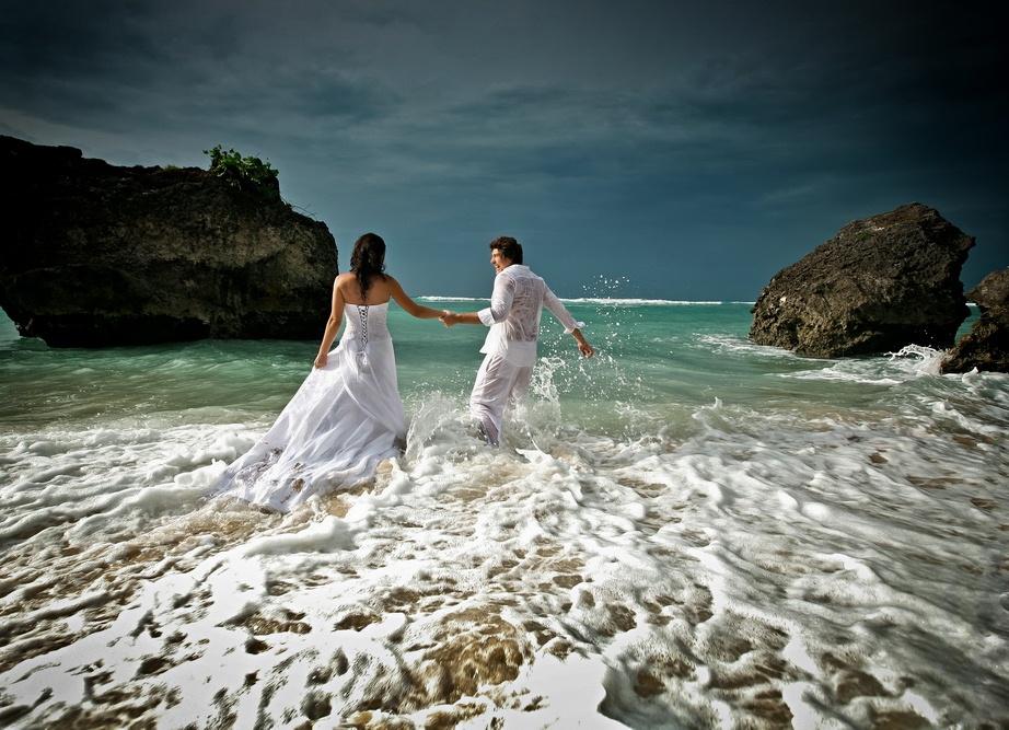 обнаружили, фотографии свадебных пар на море работы
