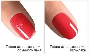 Гель лак для ногтей прозрачный