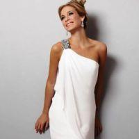 74d78d3f394 Греческое свадебное платье – один из лучших вариантов подвенечных нарядов