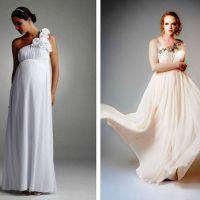 49a0b746d49 Роскошные свадебные платья для беременных разрабатываются таким образом