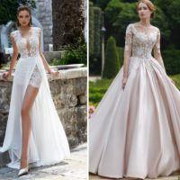 8a7f29eb070 Красивые свадебные платья с богатой отделкой и сложным кроем заслуживают  пристальное внимание представительниц прекрасного пола