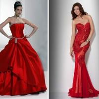 203ad86a372 Эффектное красное свадебное платье подойдет смелым и уверенным в себе  барышням