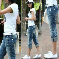 Как из джинсов сделать бриджи