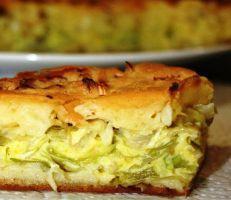 Заливка для пирога с капустой