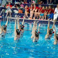 школа синхронного плавания