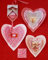 Валентинки сердечки
