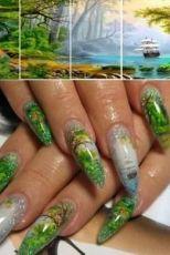 фотодизайн для ногтей