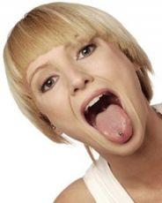 белый налет на корне языка