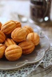 Орешки со сгущенкой классический рецепт