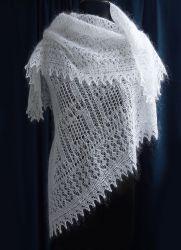 Как отбелить белый пуховый платок  a46846c640ab1