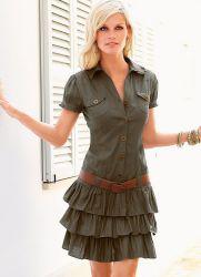 Платья для худых девушек