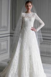 Свадебные платья с кружевными плечами