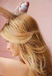 как можно уложить длинные волосы 3